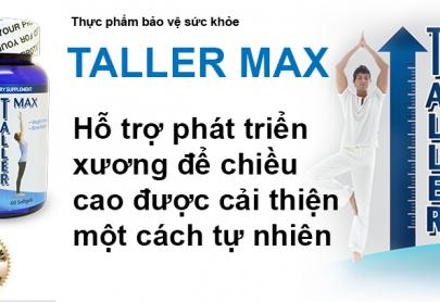 TPCN Tăng chiều cao Taller Max có giá bao nhiêu?