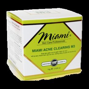 MIAMI ACNE CLEARING M3- ĐIỀU TRỊ MỤN TỪ SÂU BÊN TRONG