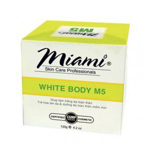 Miami white body M5 - Kem dưỡng trắng body