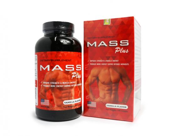 Mass Plus - Tăng cơ đồng hành cùng người tập Gym
