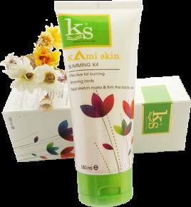 Kami Skin Slimming K4 - Kem Nóng Tan Mỡ Nhanh