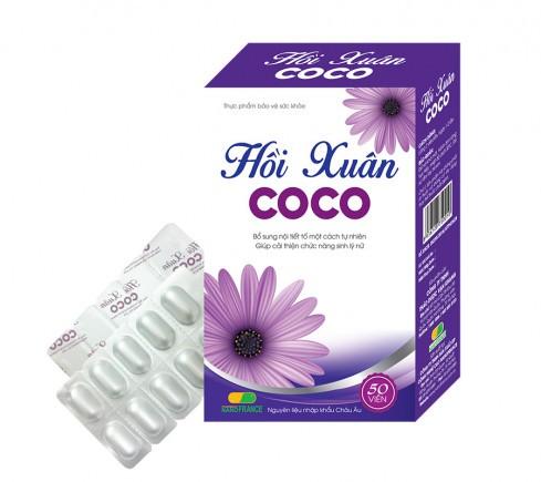 Hồi Xuân COCO Bổ sung nội tiết tố, Cải thiện chức năng sinh lý nữ