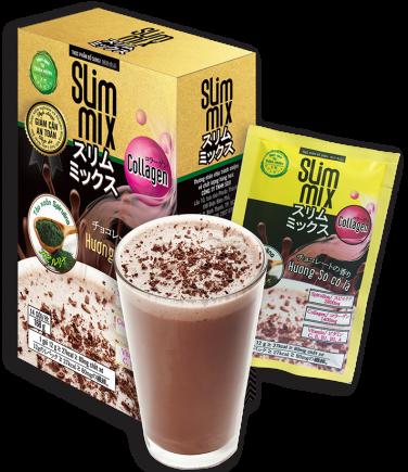 Giảm Cân Collagen Slim chứa CA CAO HỮU CƠ giúp đẩy nhanh quá trình đánh tan mỡ
