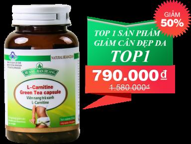 L-Carnitine Green Tea Capsule Giải Pháp Giảm Cân Chuyên Biệt