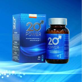 20 POWER Lấy lại phong độ phái mạnh