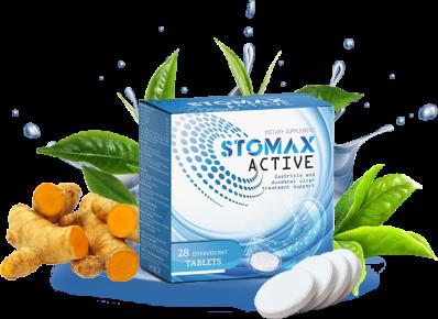 Stomax Active Hỗ Trợ Giảm Viêm Loét Dạ Dày - Tá Tràng