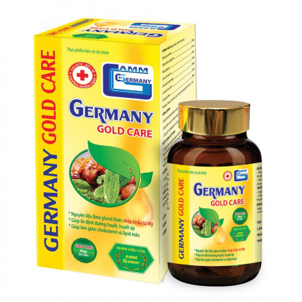 Germany Gold Care ©- Quên đi nỗi lo huyết áp