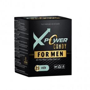 XPOWER CANDY FOR MEN Kẹo ngậm tăng cường sinh lý nam