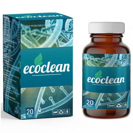 EcoClean Diệt Ký Sinh Trùng, Giải độc gan Thanh lọc cơ thể