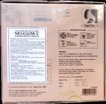 Nhãn phụ từ nhà nhập khẩu, phân phối độc quyền RELIV HEALTHCARE